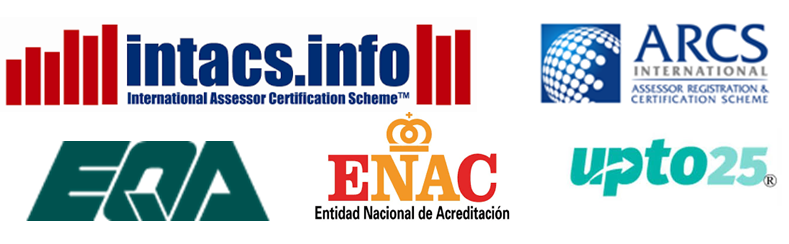 We are certified/accredited by